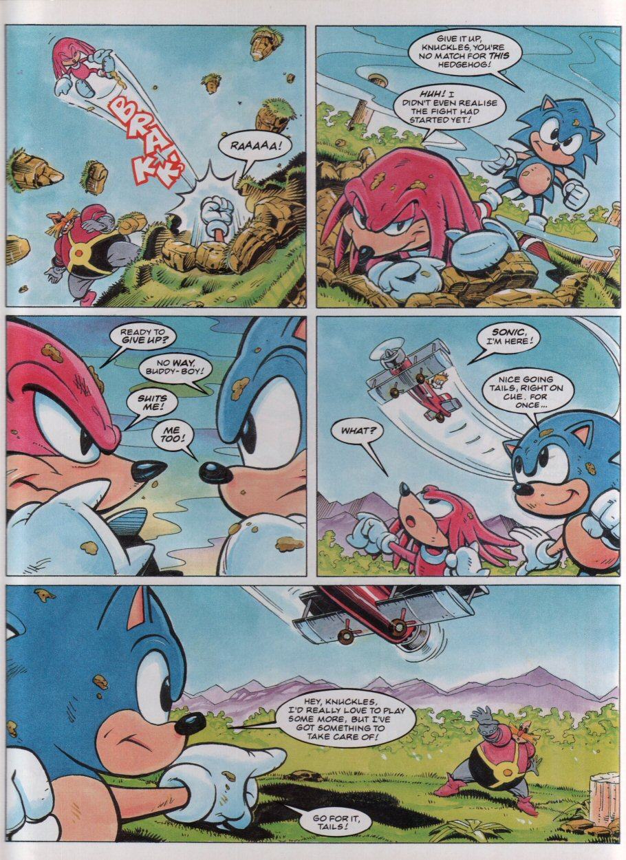 Sonic - The Comic Issue No. 034 Page 6