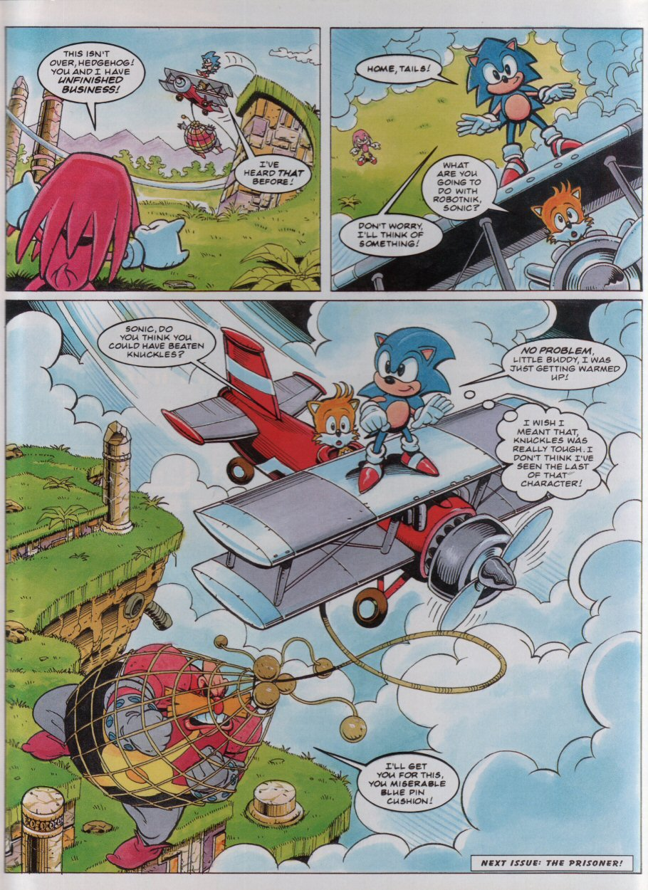 Sonic - The Comic Issue No. 034 Page 8