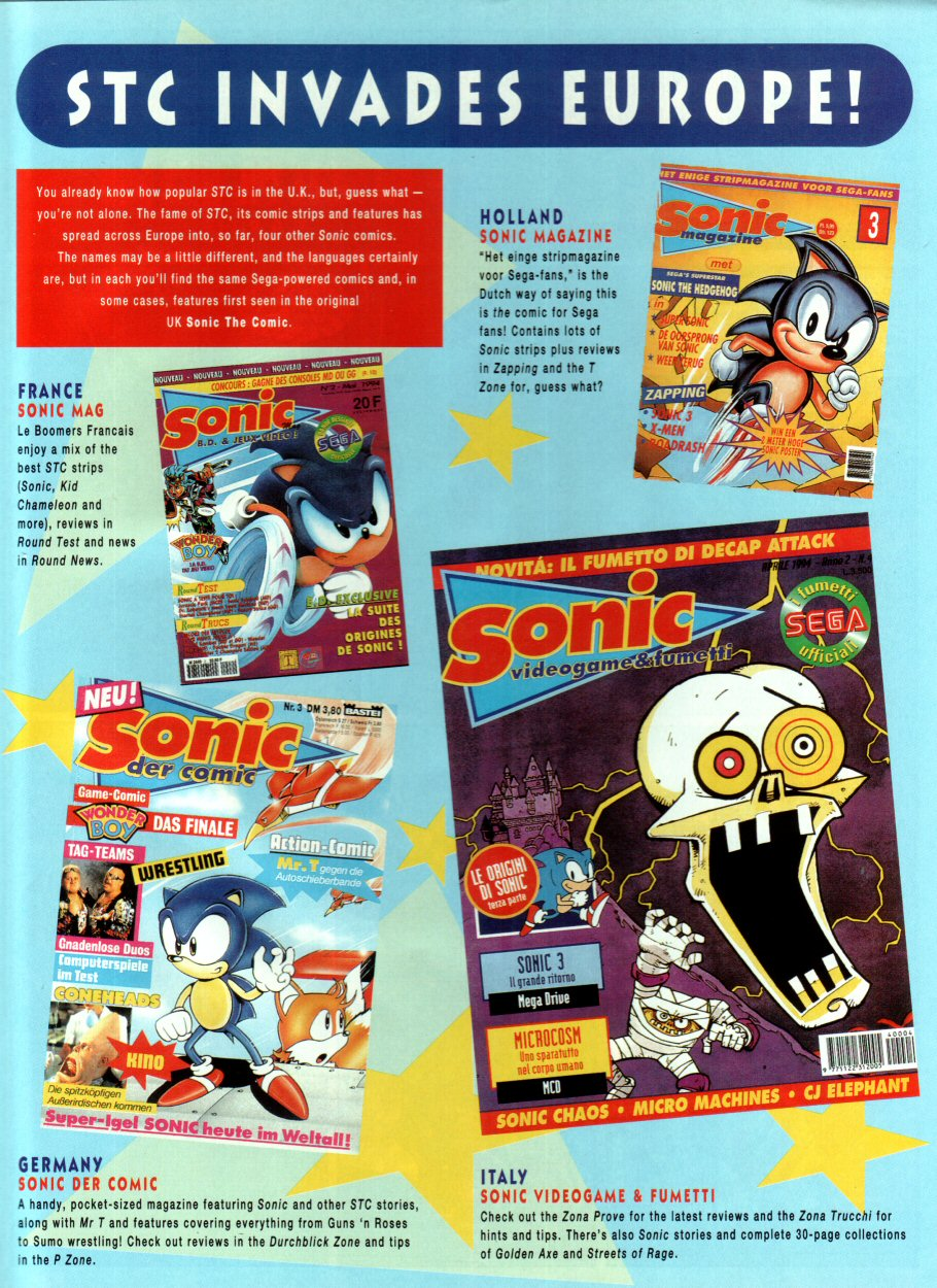 Sonic - The Comic Issue No. 034 Page 18