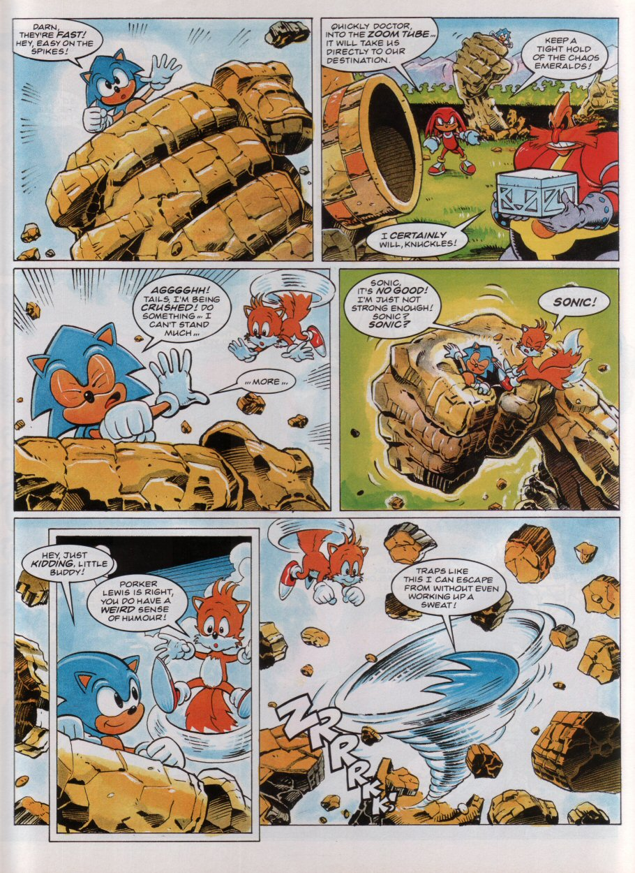 Sonic - The Comic Issue No. 036 Page 4