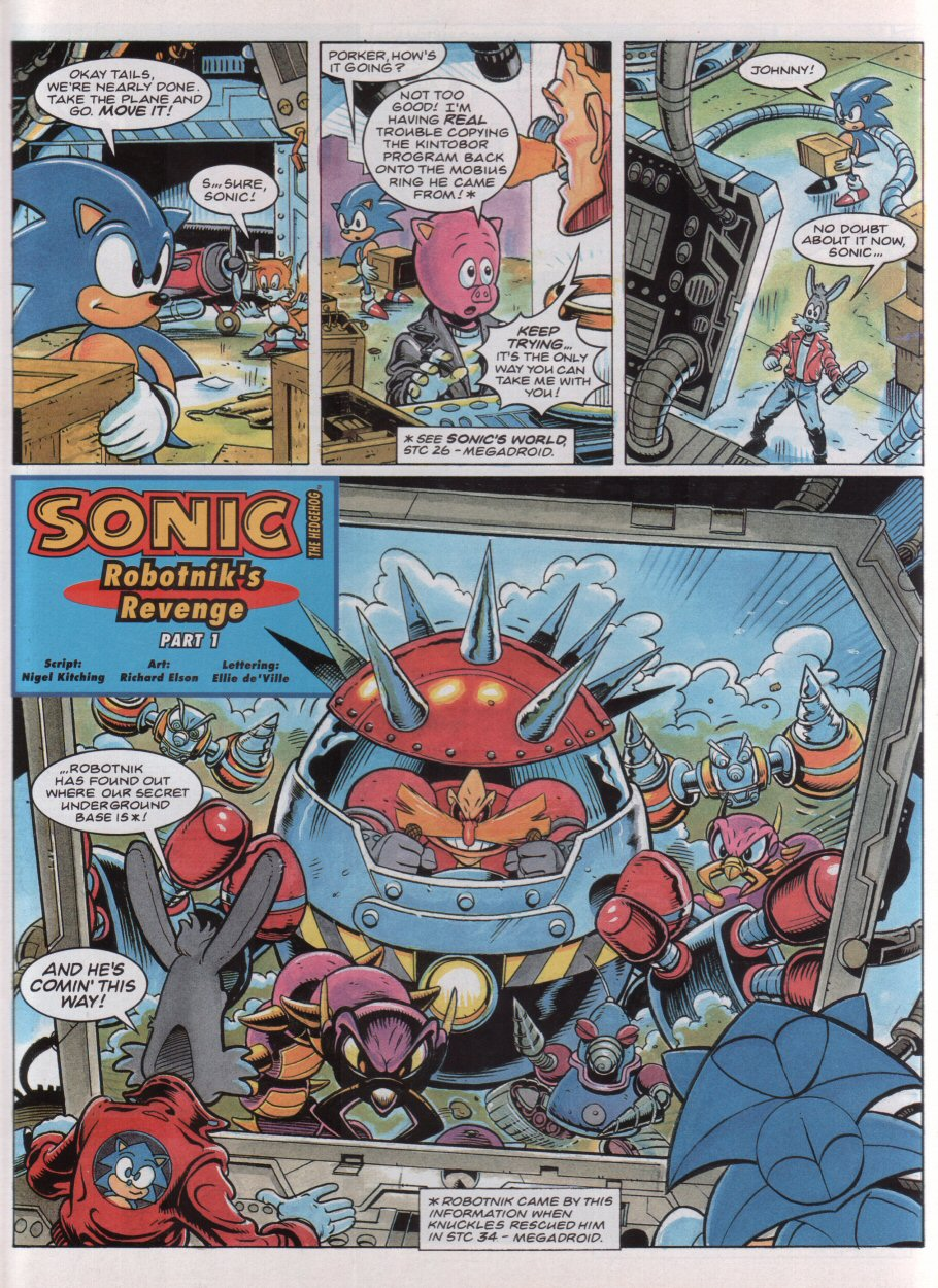 Sonic - The Comic Issue No. 037 Page 2