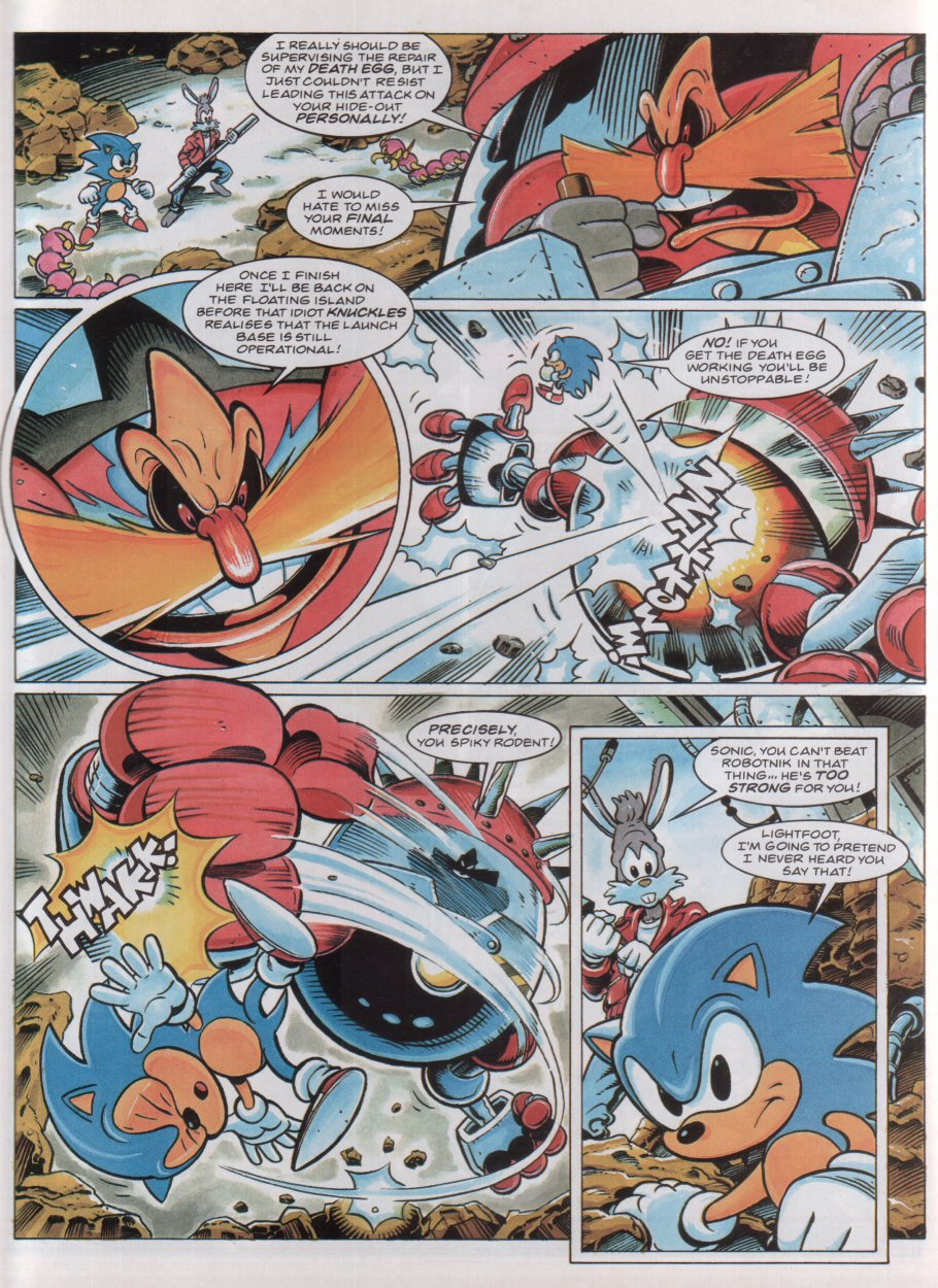 Sonic - The Comic Issue No. 037 Page 6