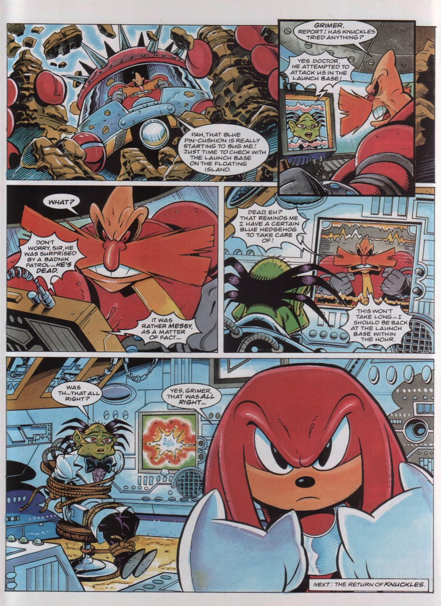 Sonic - The Comic Issue No. 037 Page 8