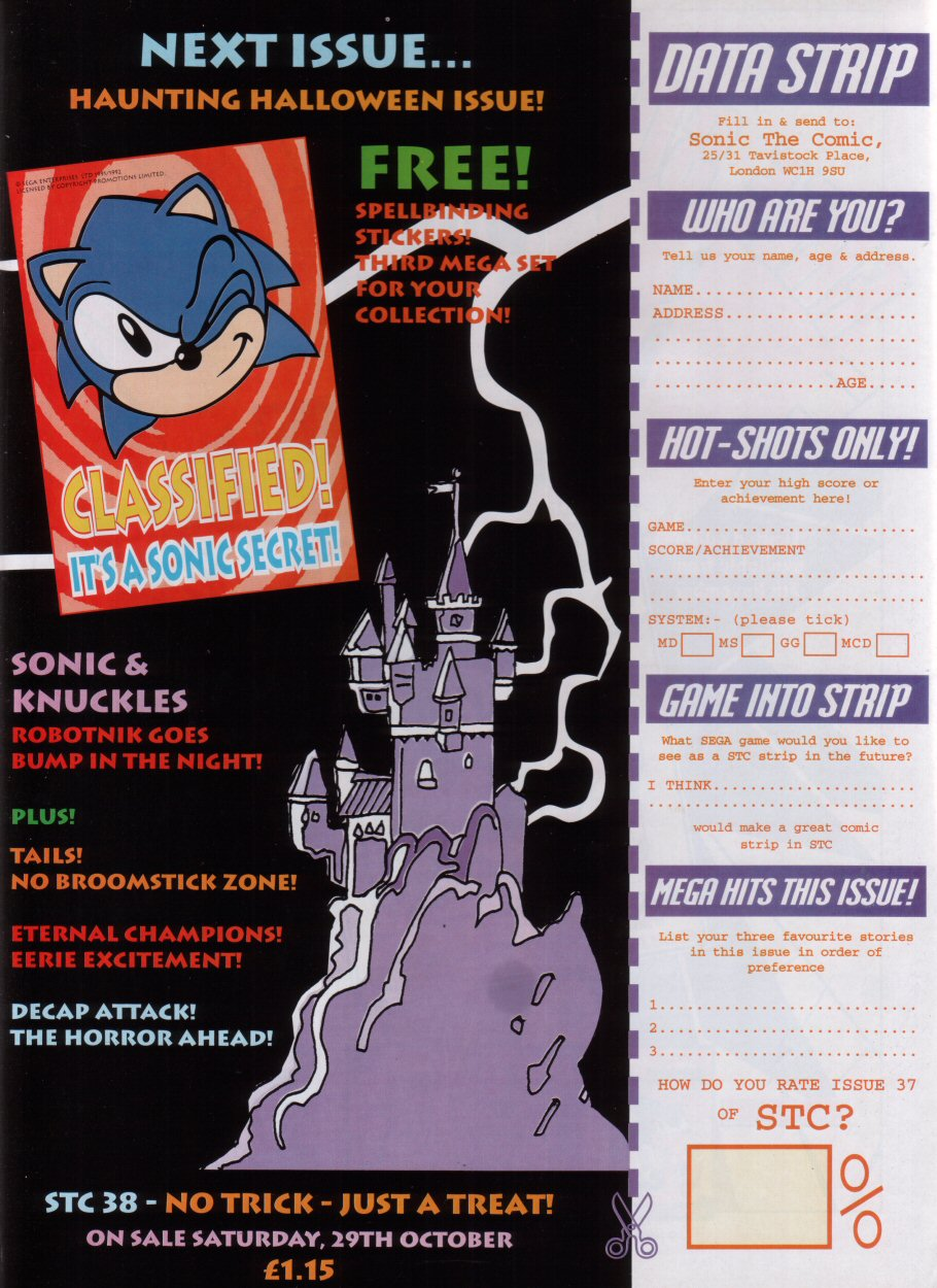 Sonic - The Comic Issue No. 037 Page 30