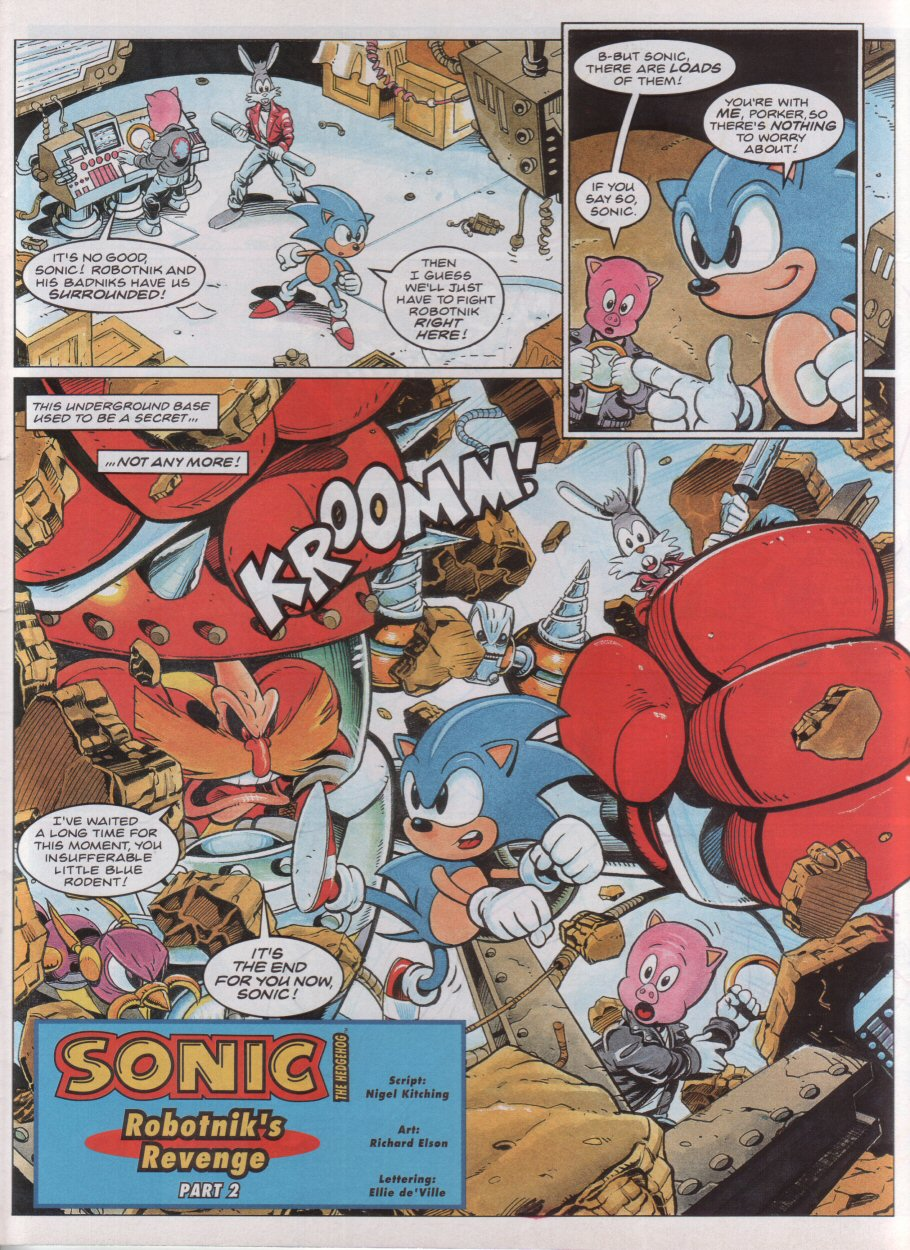 Sonic - The Comic Issue No. 038 Page 2