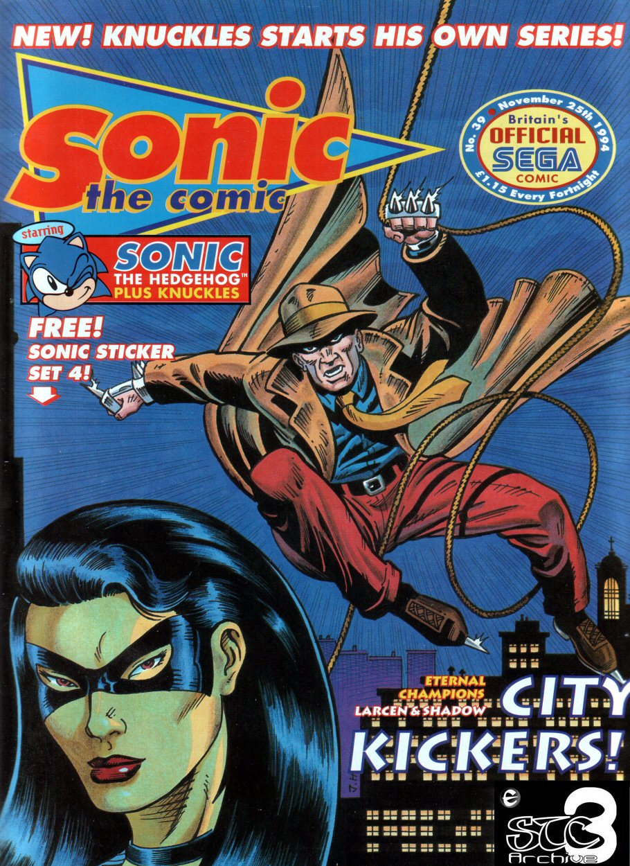 Sonic - The Comic Issue No. 039 Comic cover page