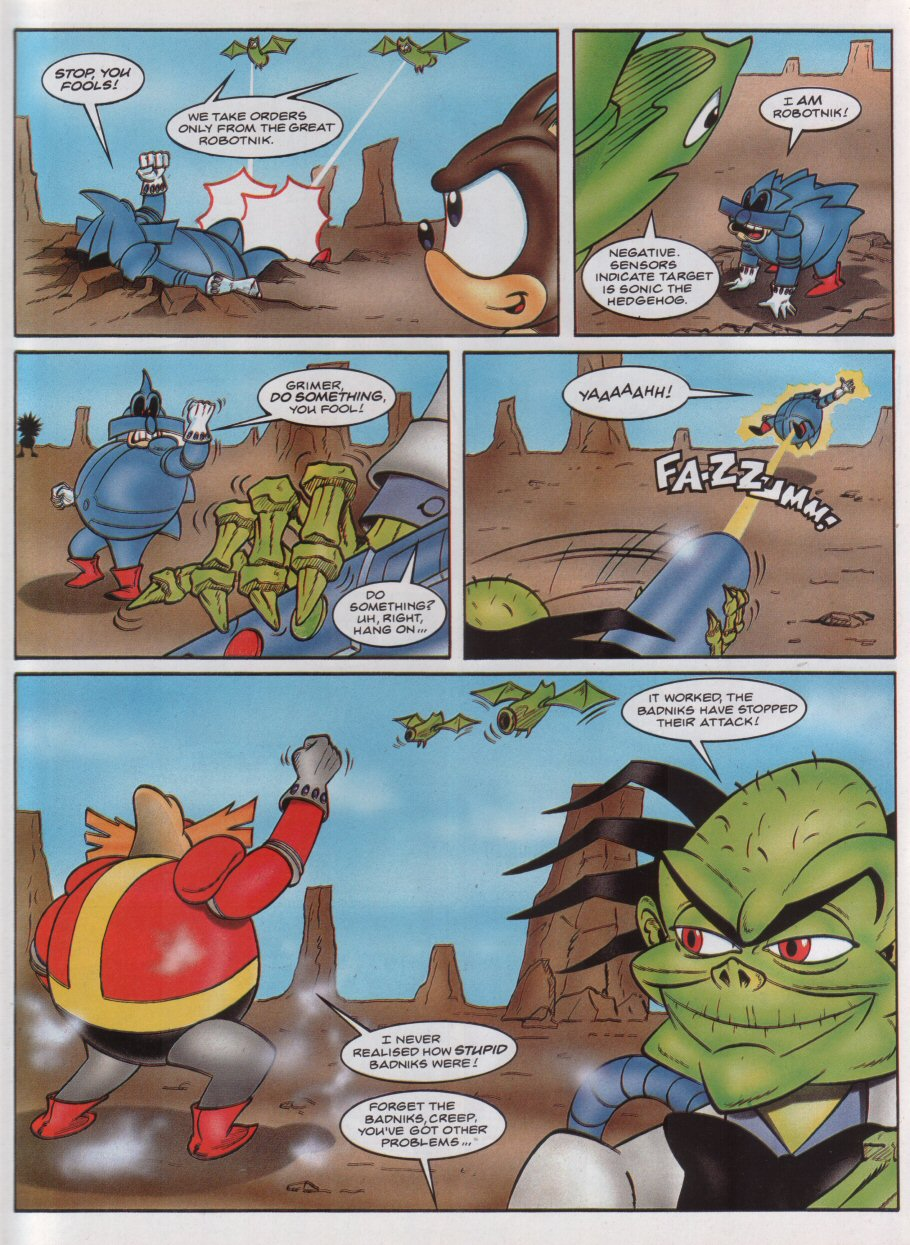 Sonic - The Comic Issue No. 039 Page 7