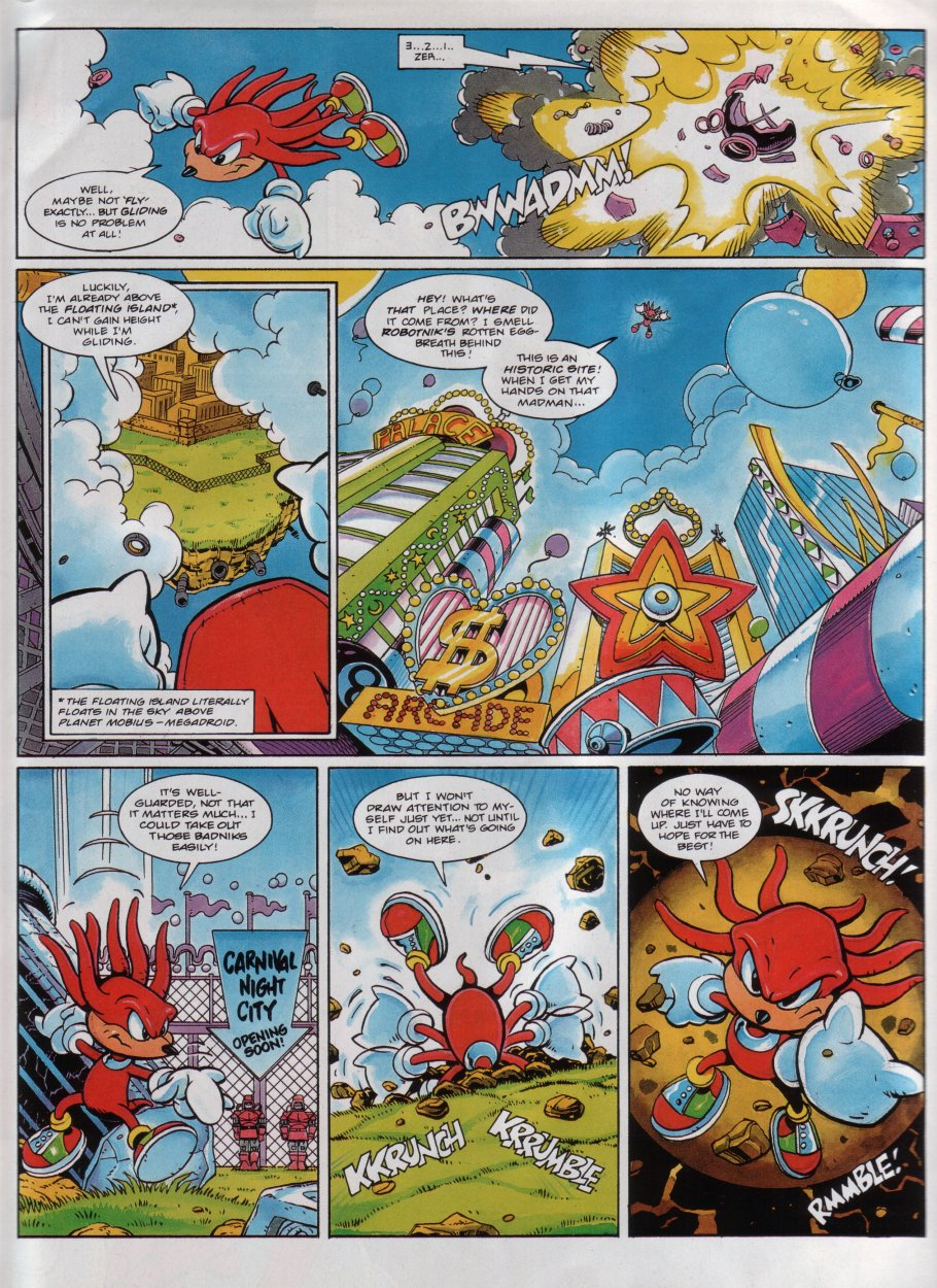 Sonic - The Comic Issue No. 039 Page 19