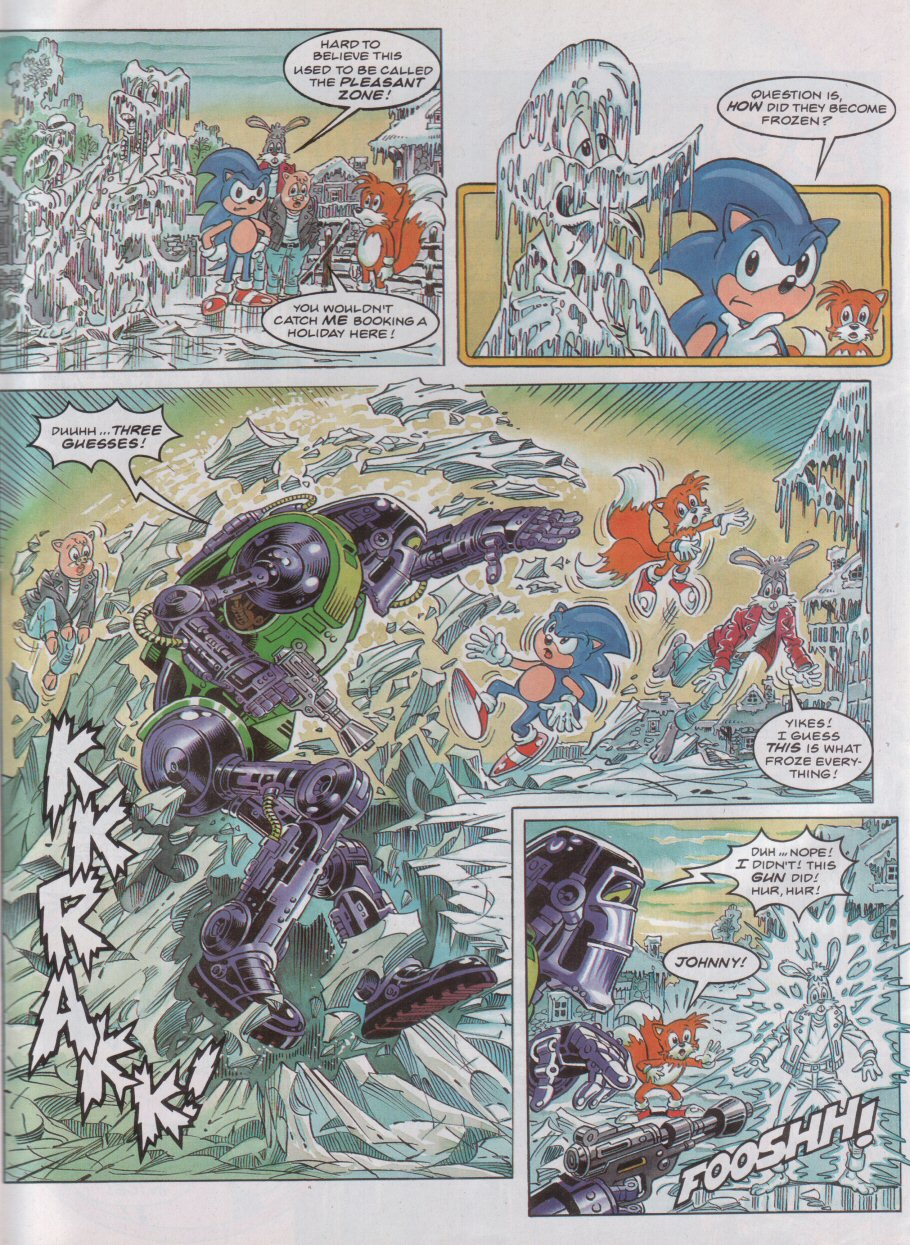 Sonic - The Comic Issue No. 040 Page 3