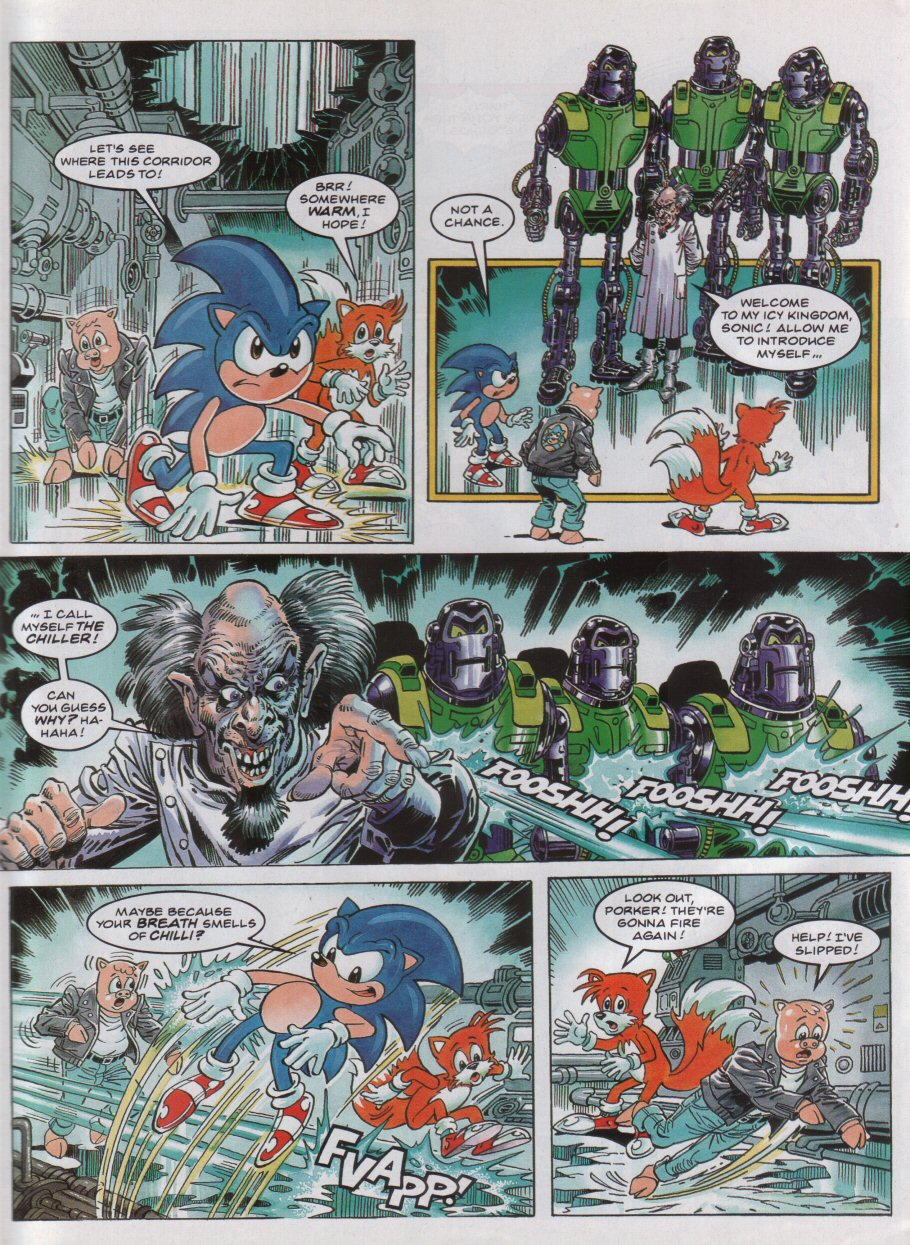 Sonic - The Comic Issue No. 040 Page 5