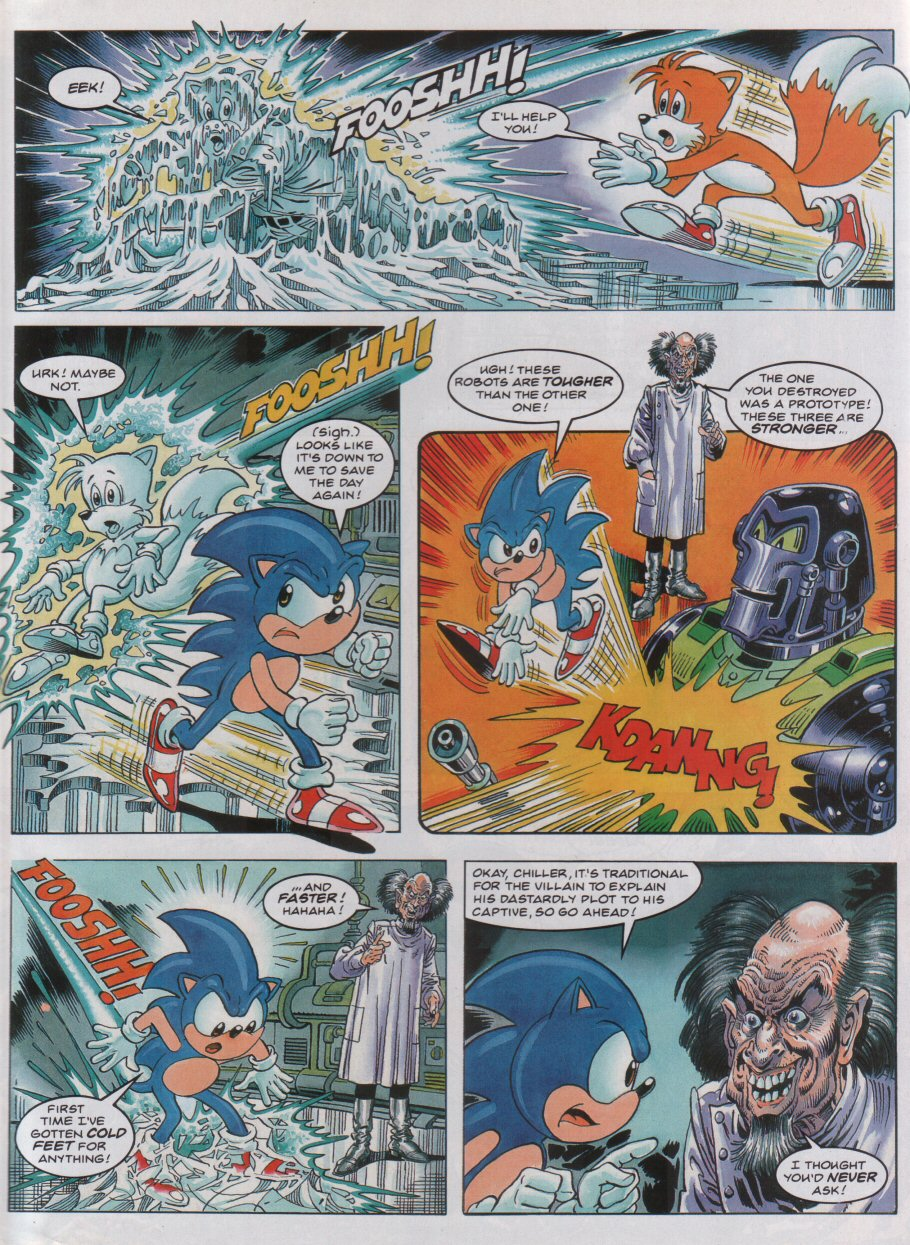 Sonic - The Comic Issue No. 040 Page 6