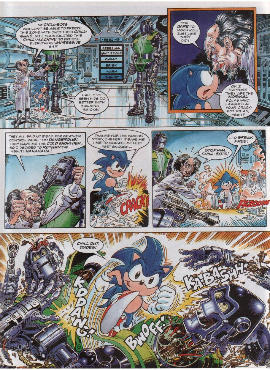 Sonic - The Comic Issue No. 040 Page 7
