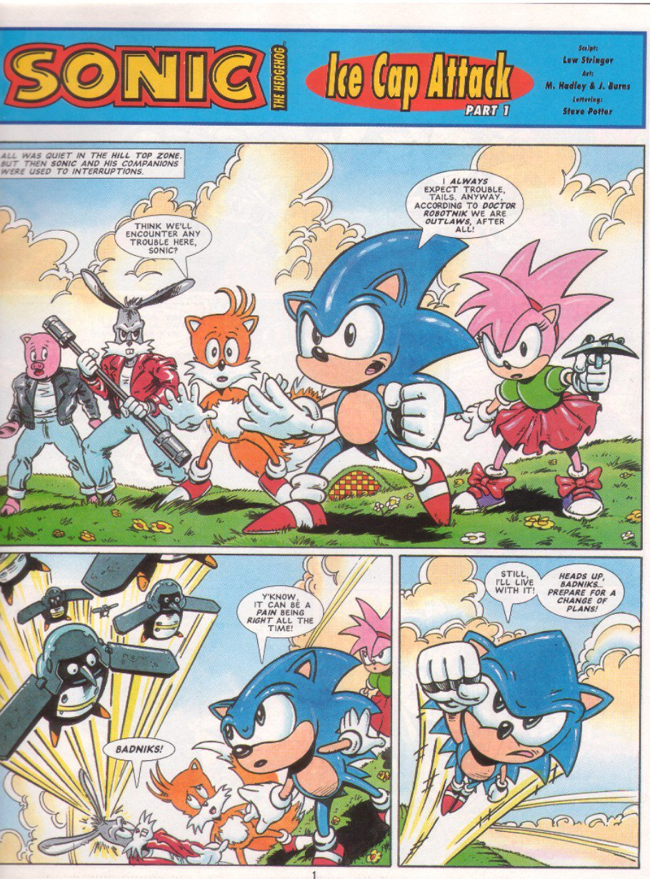 Sonic - The Comic Issue No. 041 Page 2