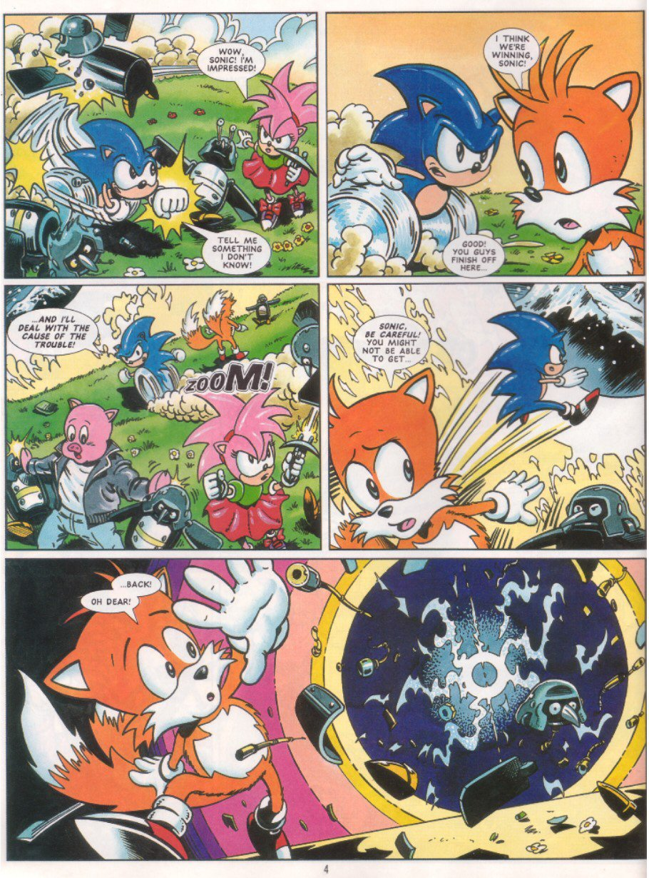 Sonic - The Comic Issue No. 041 Page 5