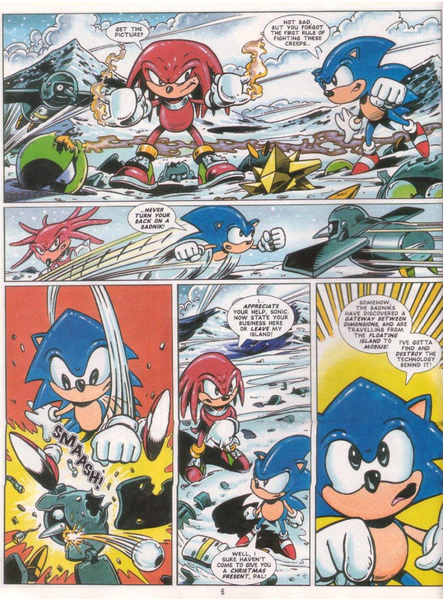 Sonic - The Comic Issue No. 041 Page 7