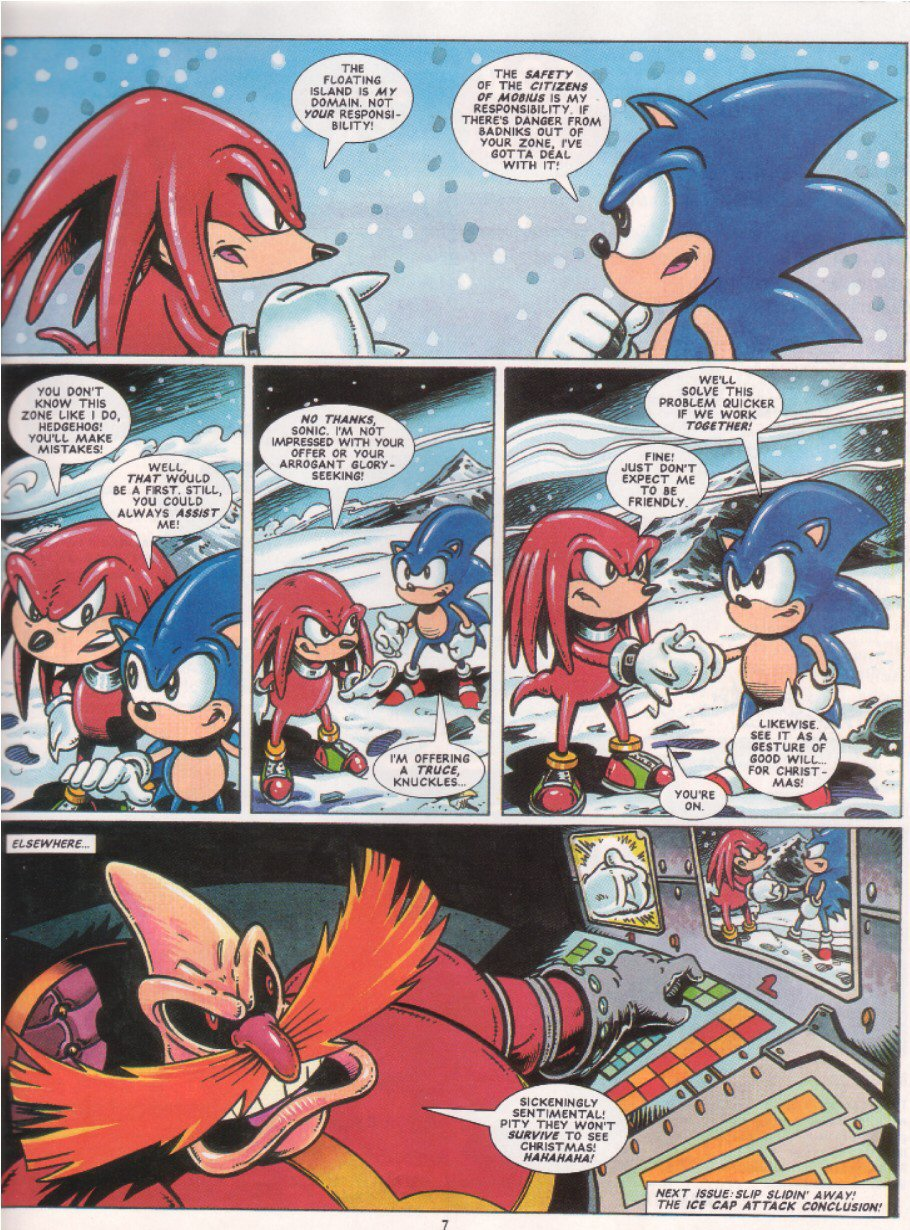 Sonic - The Comic Issue No. 041 Page 8