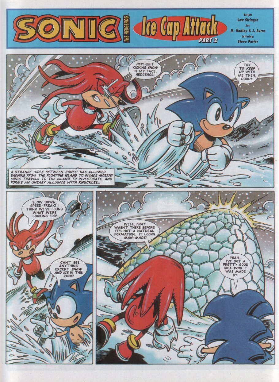 Sonic - The Comic Issue No. 042 Page 2