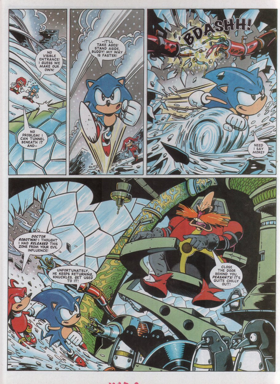 Sonic - The Comic Issue No. 042 Page 3