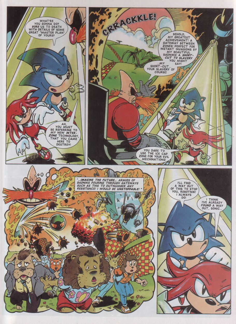 Sonic - The Comic Issue No. 042 Page 5