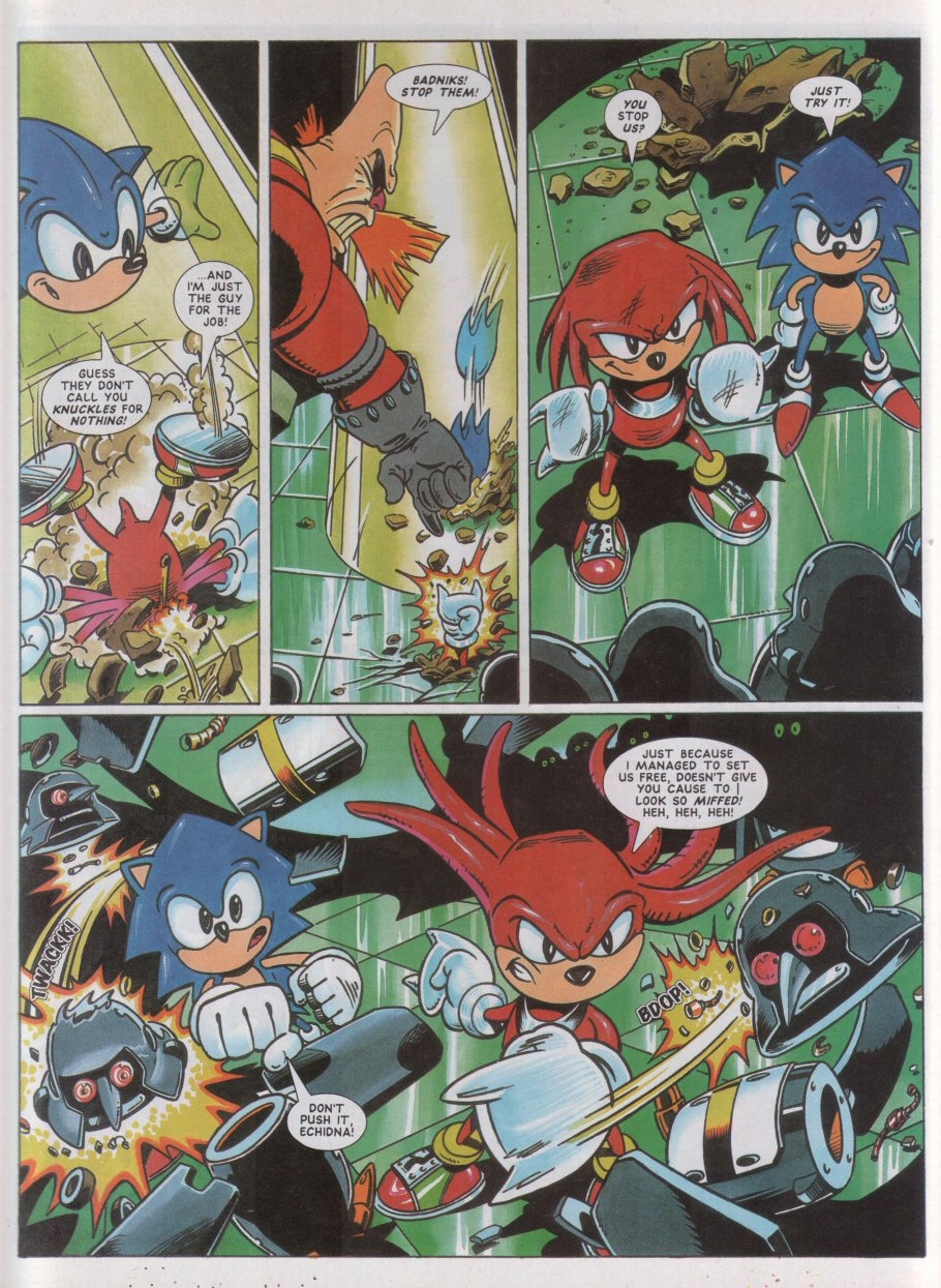 Sonic - The Comic Issue No. 042 Page 6