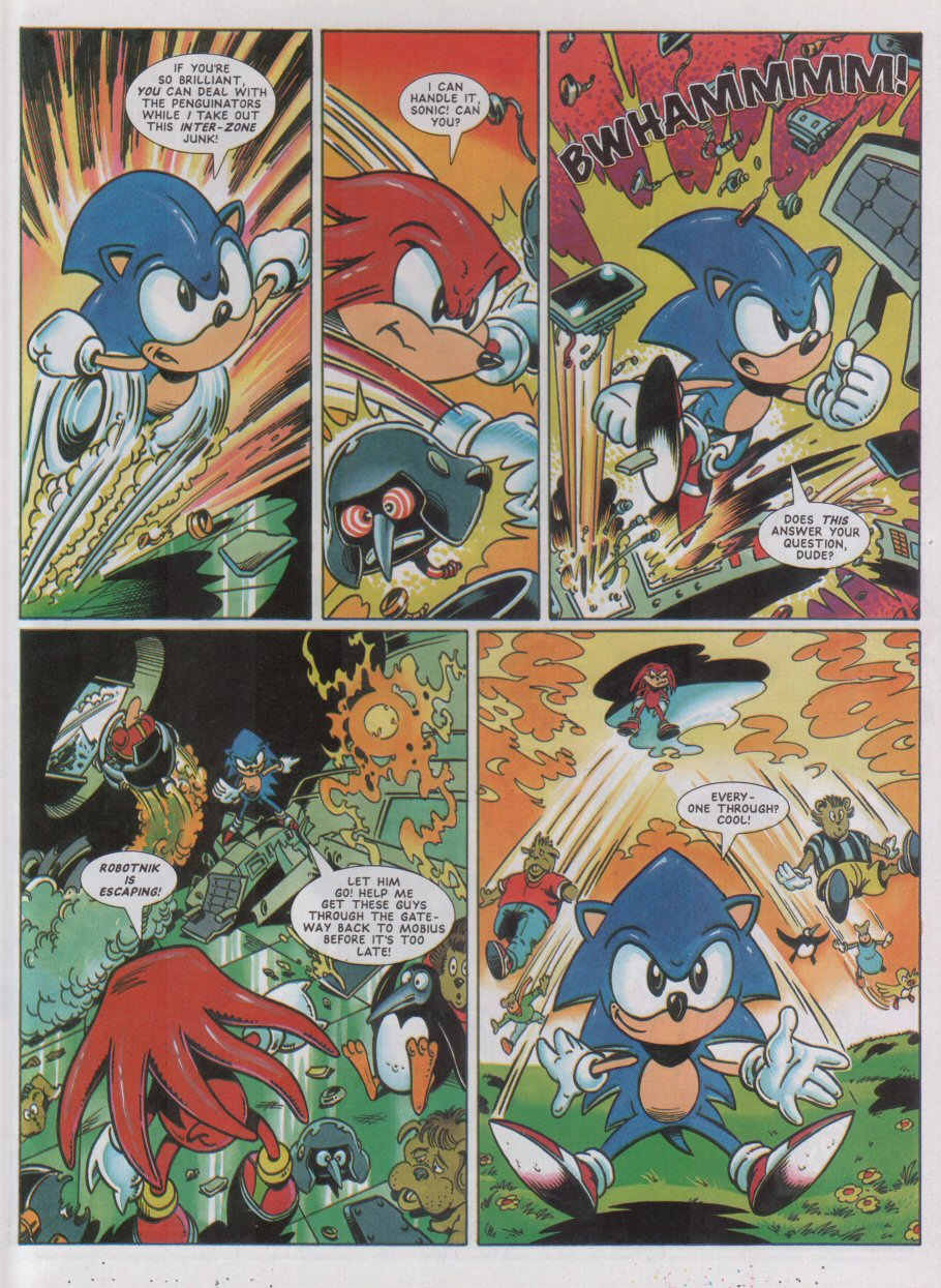 Sonic - The Comic Issue No. 042 Page 7
