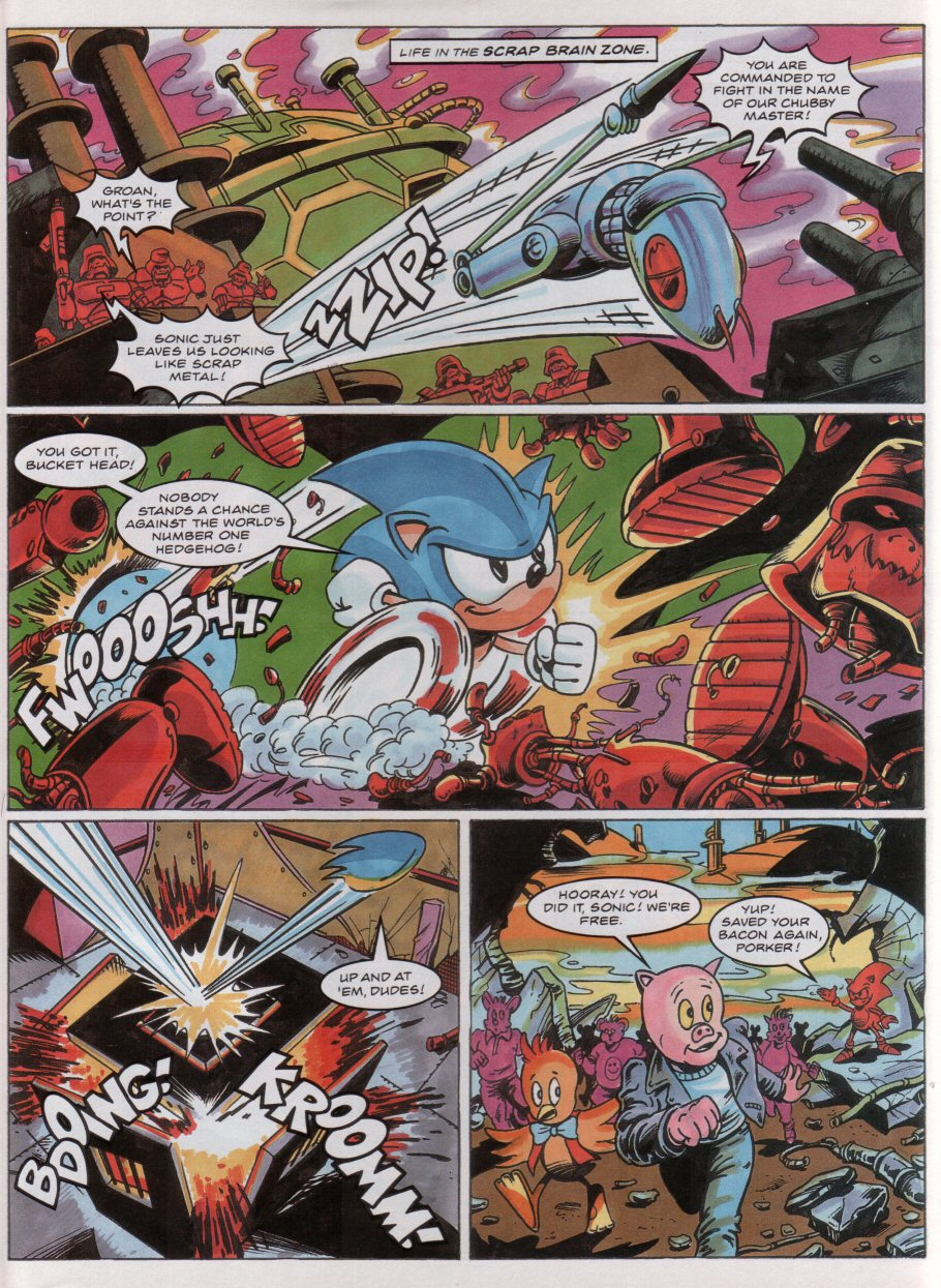 Sonic - The Comic Issue No. 042 Page 33