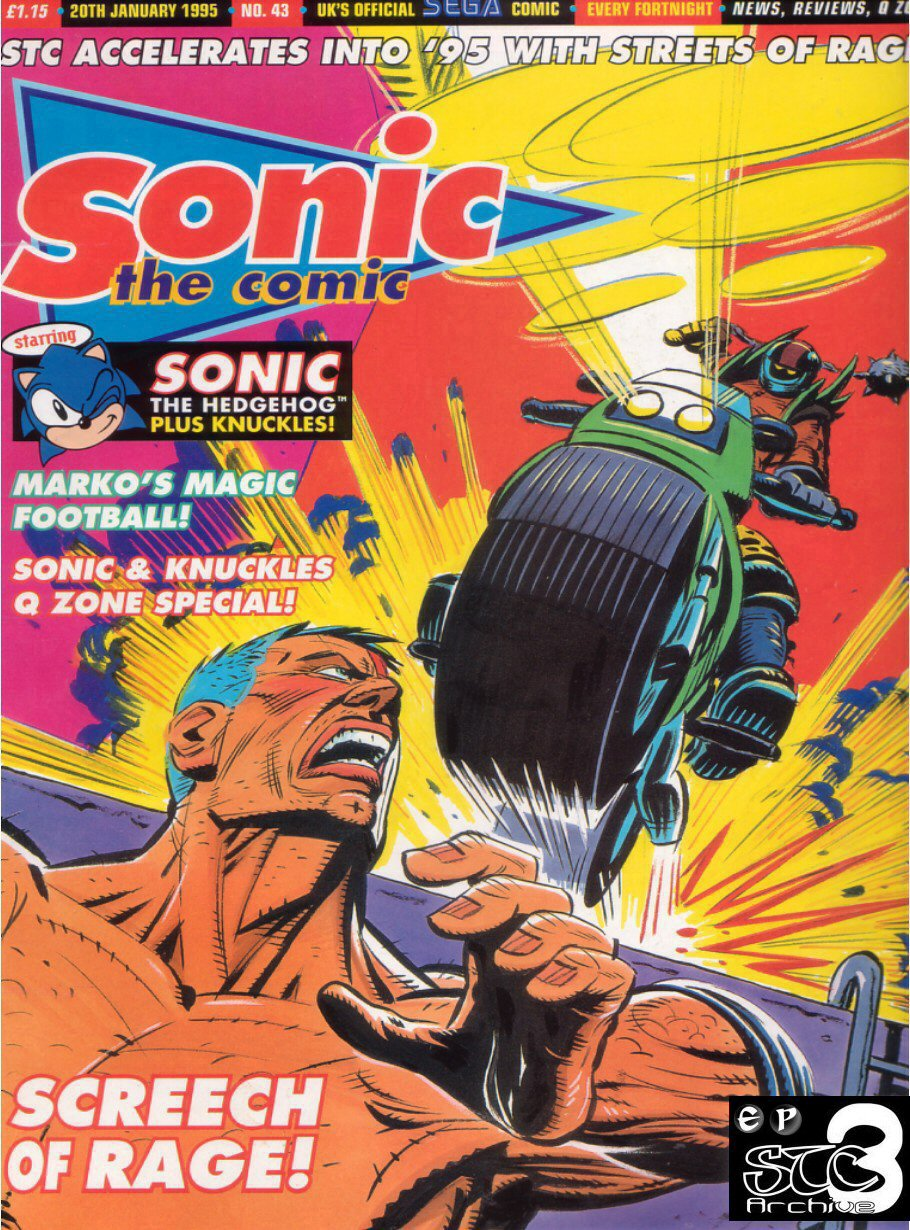 Sonic - The Comic Issue No. 043 Comic cover page
