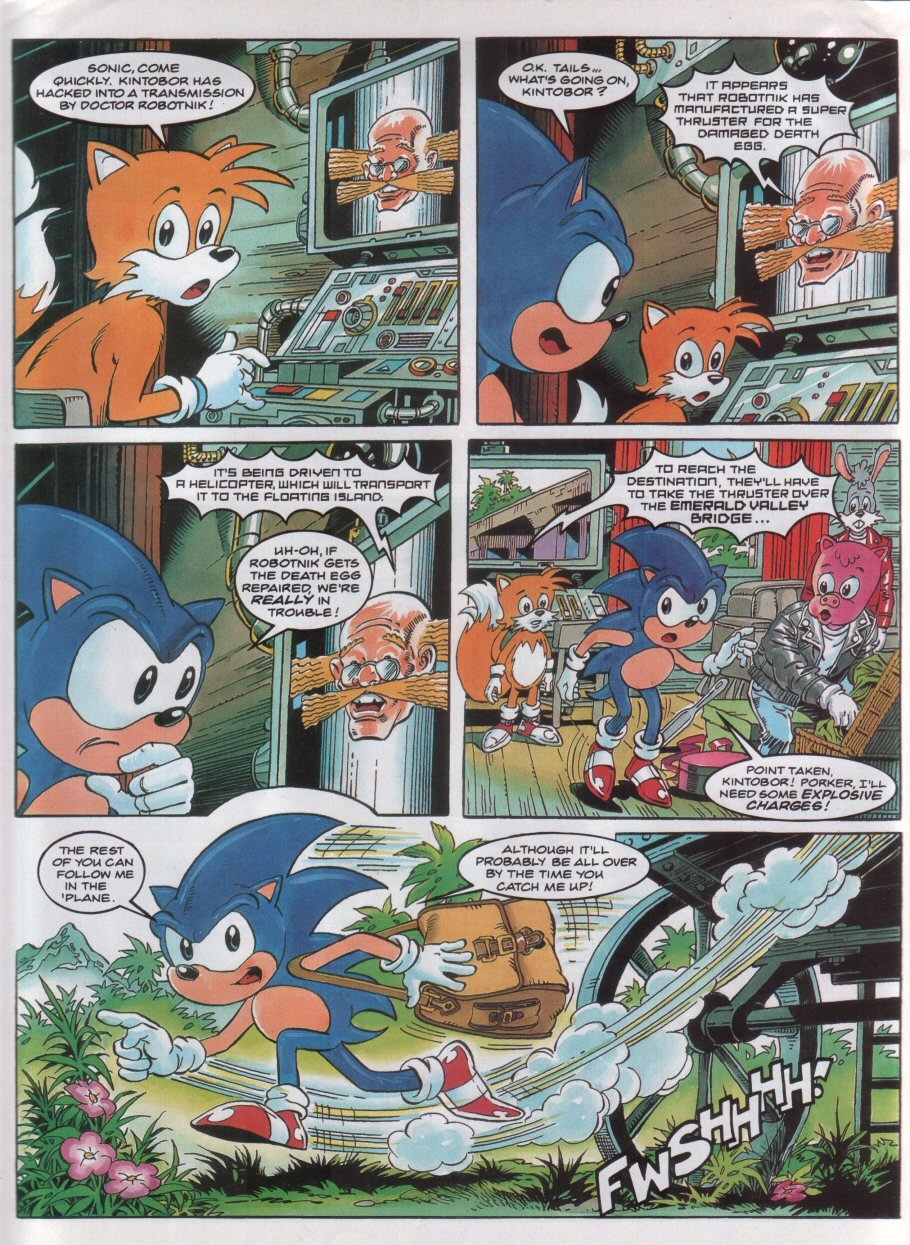 Sonic - The Comic Issue No. 043 Page 4