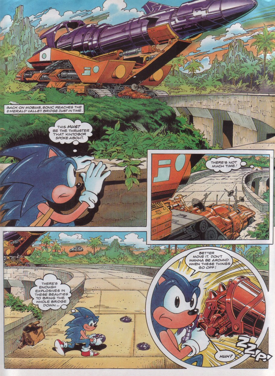 Sonic - The Comic Issue No. 043 Page 6