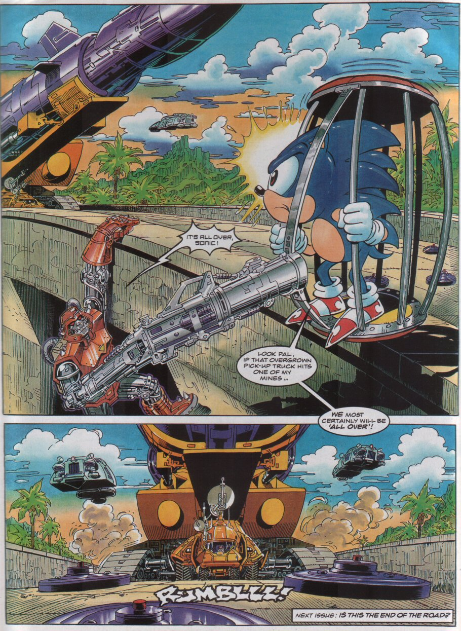 Sonic - The Comic Issue No. 043 Page 8