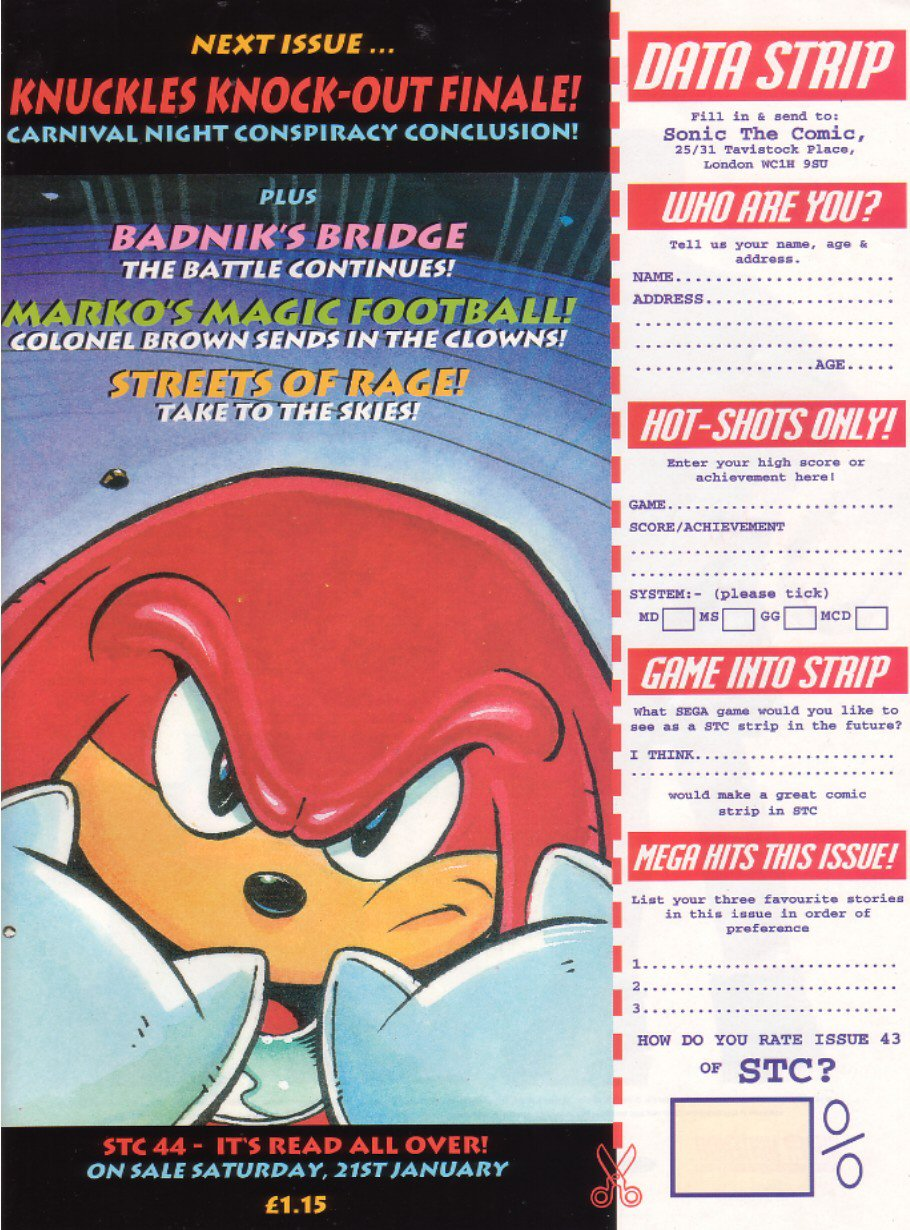 Sonic - The Comic Issue No. 043 Page 31
