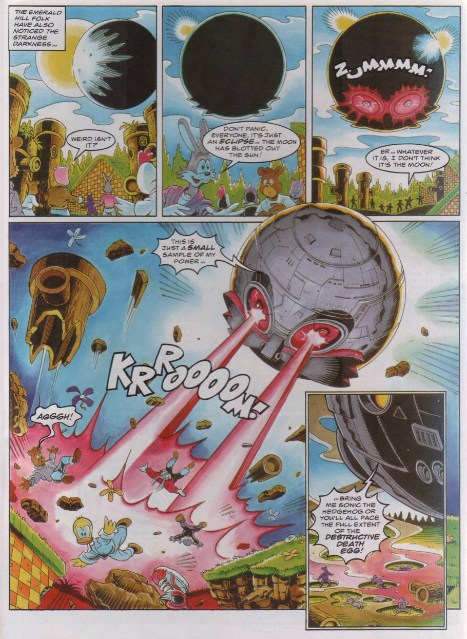 Sonic - The Comic Issue No. 045 Page 5