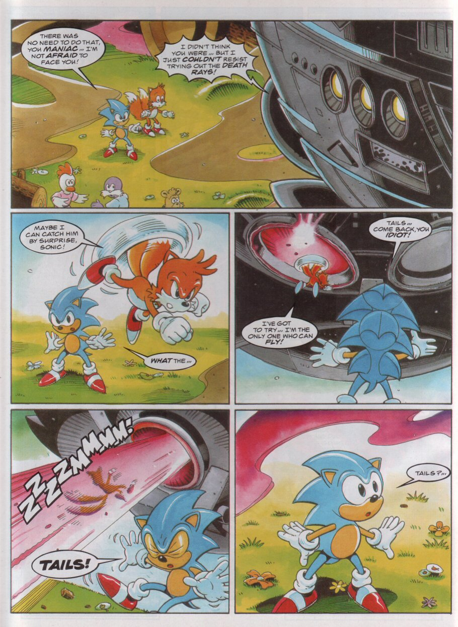 Sonic - The Comic Issue No. 045 Page 6