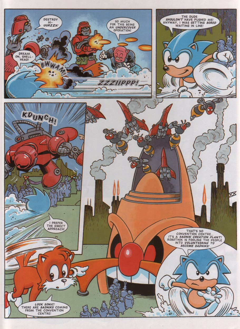 Sonic - The Comic Issue No. 046 Page 5