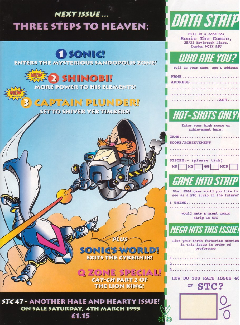Sonic - The Comic Issue No. 046 Page 30