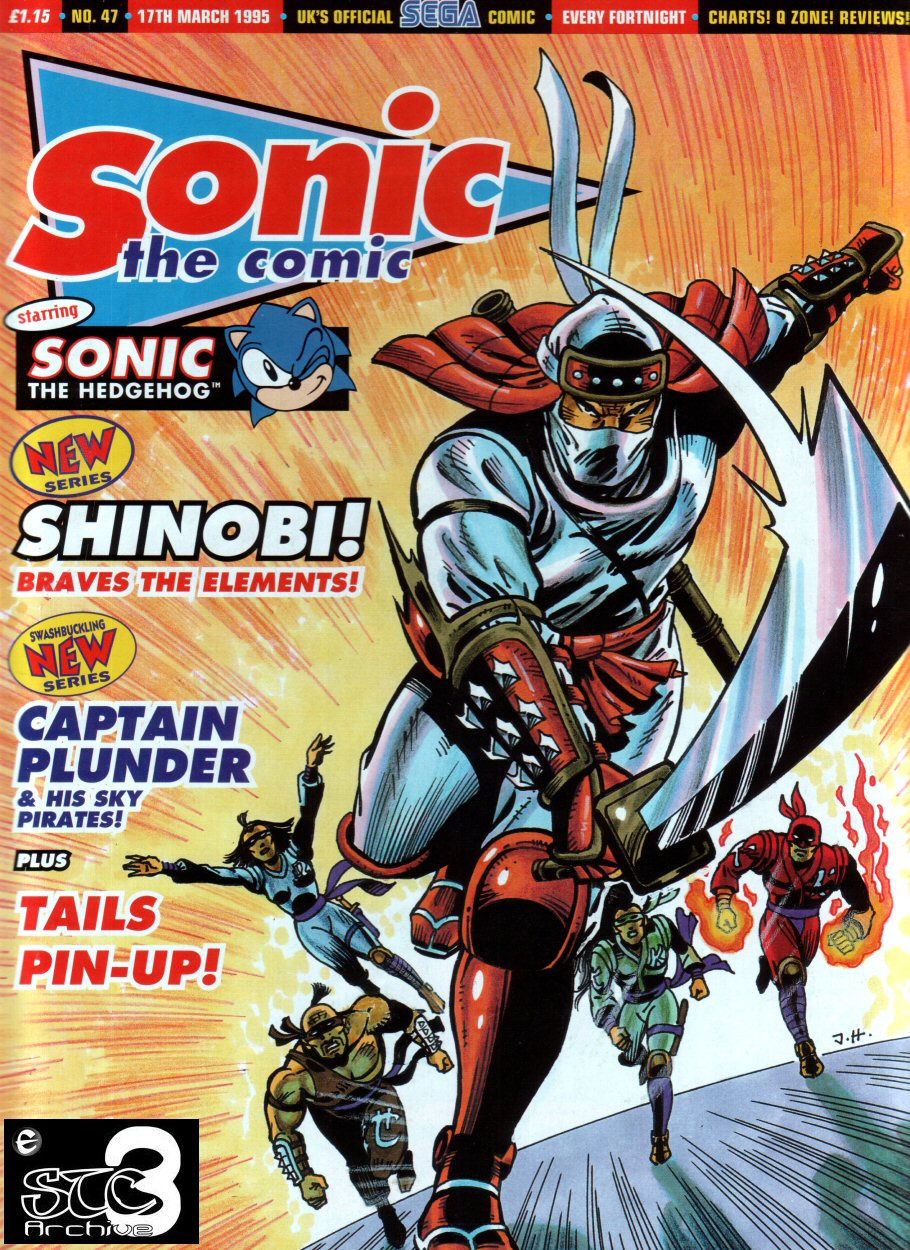 Sonic - The Comic Issue No. 047 Cover Page