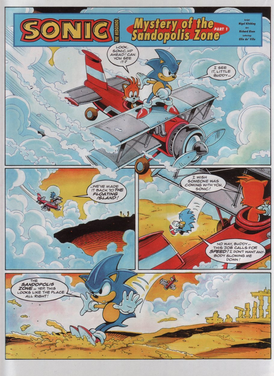 Sonic - The Comic Issue No. 047 Page 2