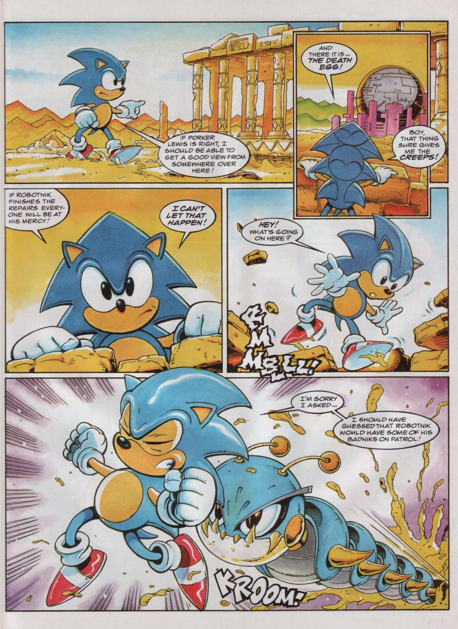 Sonic - The Comic Issue No. 047 Page 3