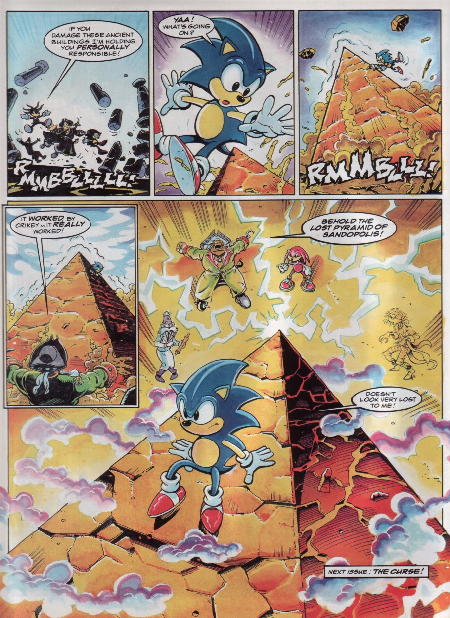 Sonic - The Comic Issue No. 047 Page 8