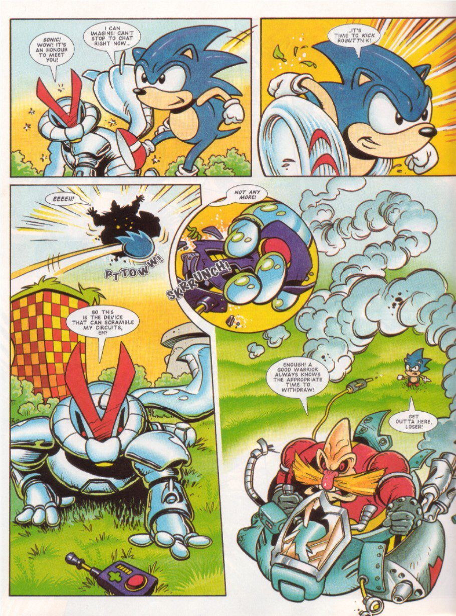 Sonic - The Comic Issue No. 047 Page 21