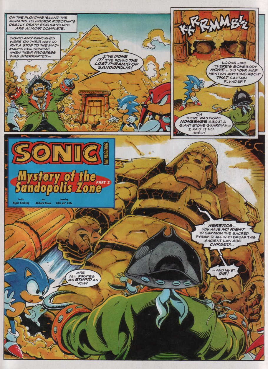 Sonic - The Comic Issue No. 048 Page 2