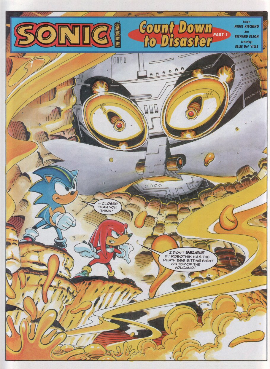 Sonic - The Comic Issue No. 049 Page 3