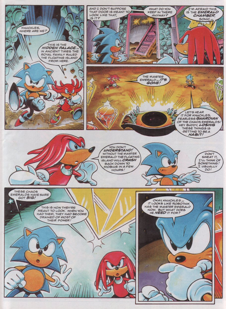 Sonic - The Comic Issue No. 049 Page 6