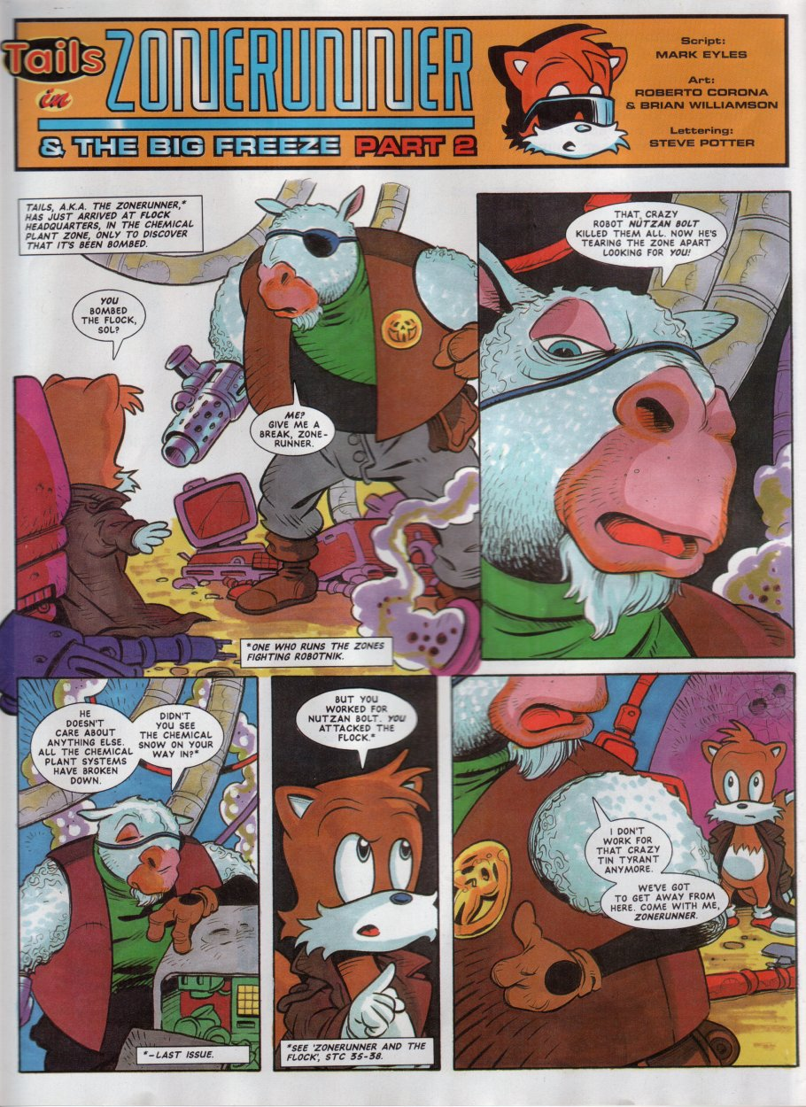 Sonic - The Comic Issue No. 049 Page 19