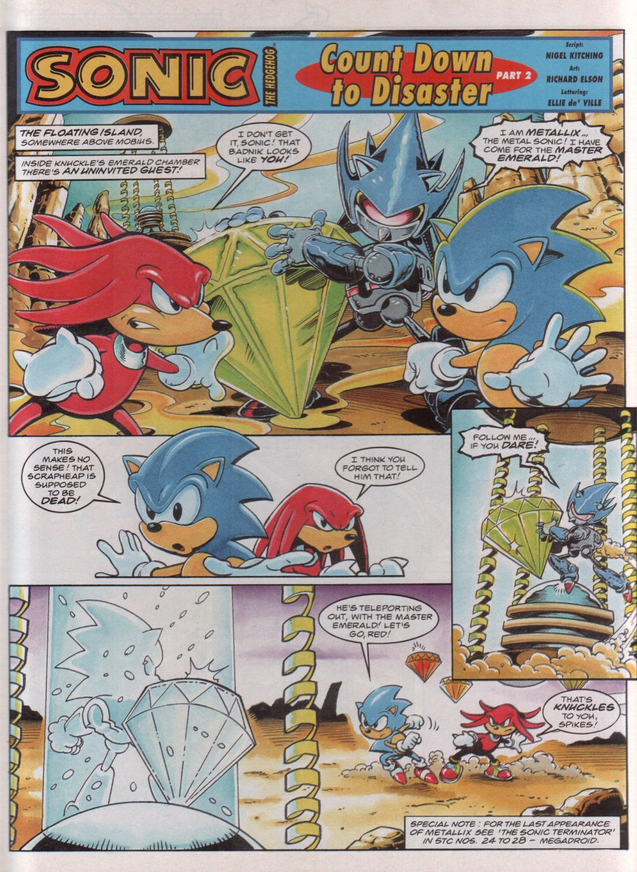 Sonic - The Comic Issue No. 050 Page 2