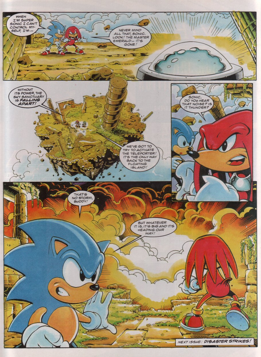 Sonic - The Comic Issue No. 050 Page 8