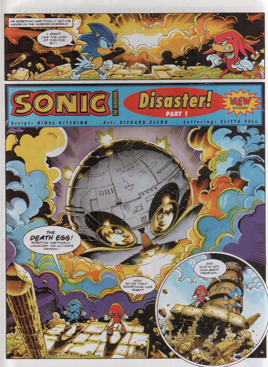 Sonic - The Comic Issue No. 051 Page 2