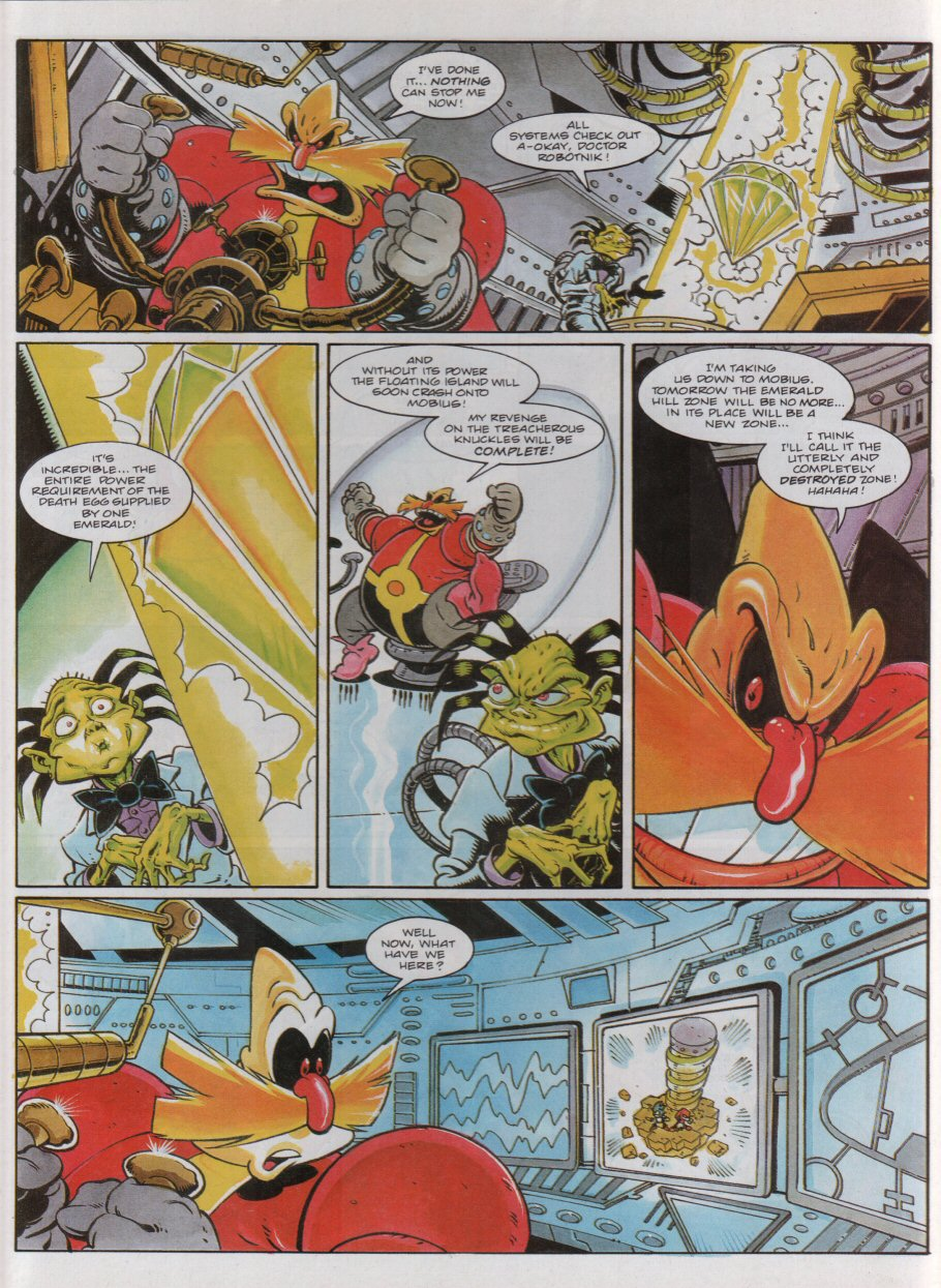 Sonic - The Comic Issue No. 051 Page 3