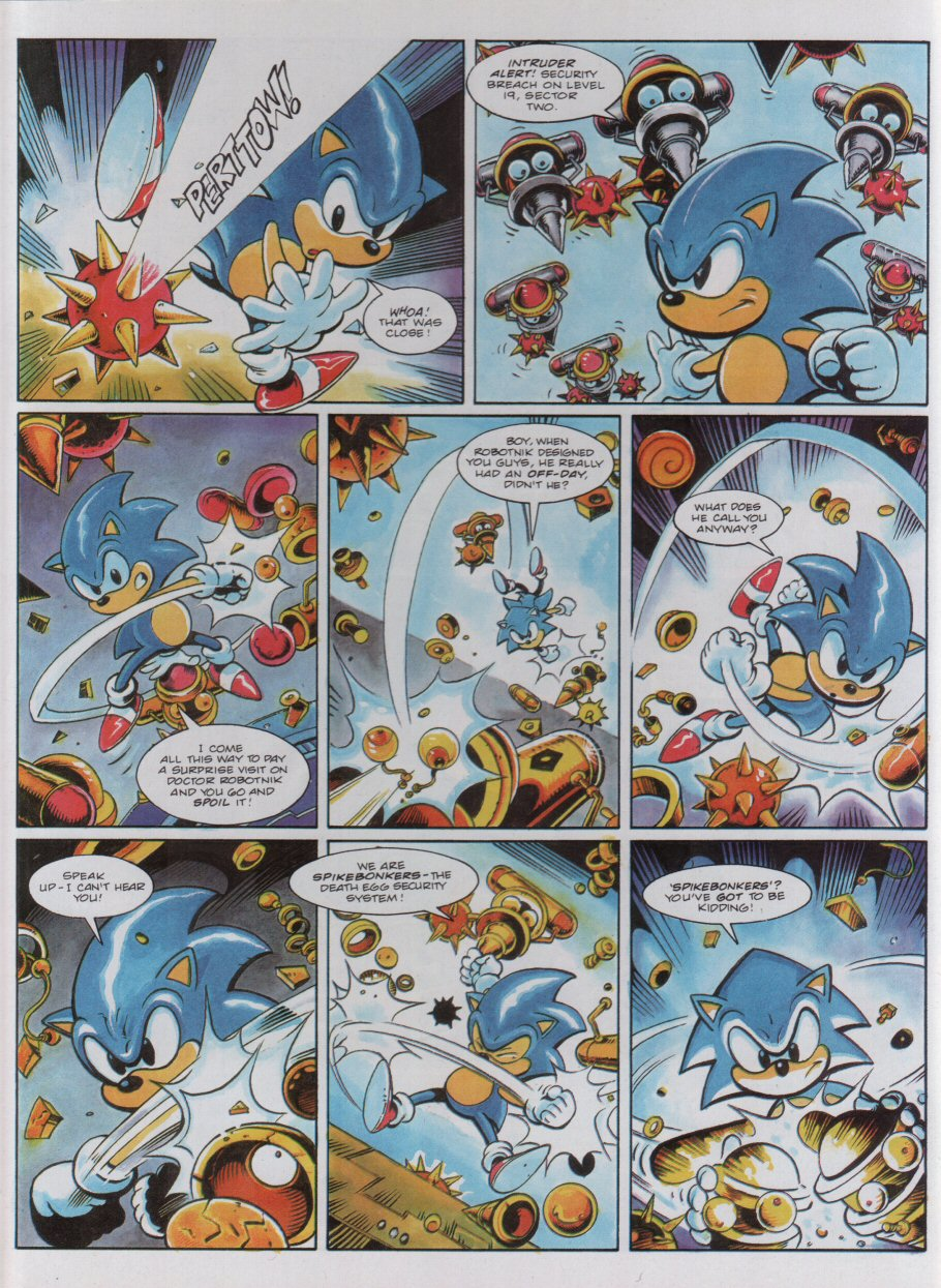 Sonic - The Comic Issue No. 051 Page 7