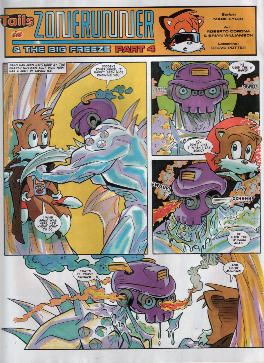 Sonic - The Comic Issue No. 051 Page 19